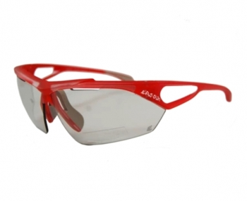 CLEAR RED FRAME/Photocromatic 1-2